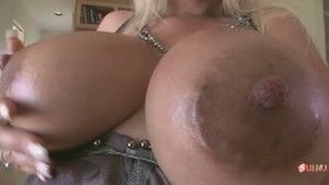Fucked woman with amazing tits in all holes