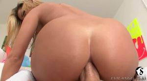 Amazing girl in anal casting
