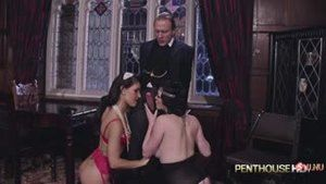 Orgy in Downton Abby