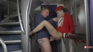 Don't be need to stewardess, otherwise she will fuck your husband