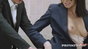 The teacher left student after school and fucked with him